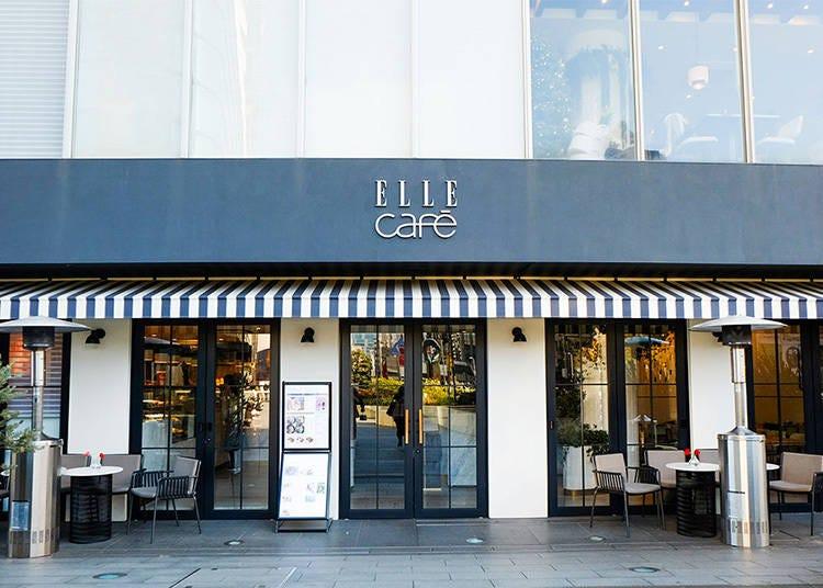 想吃得健康又是美食顏值控的女生們一定要去的「ELLE café」青山旗艦店
