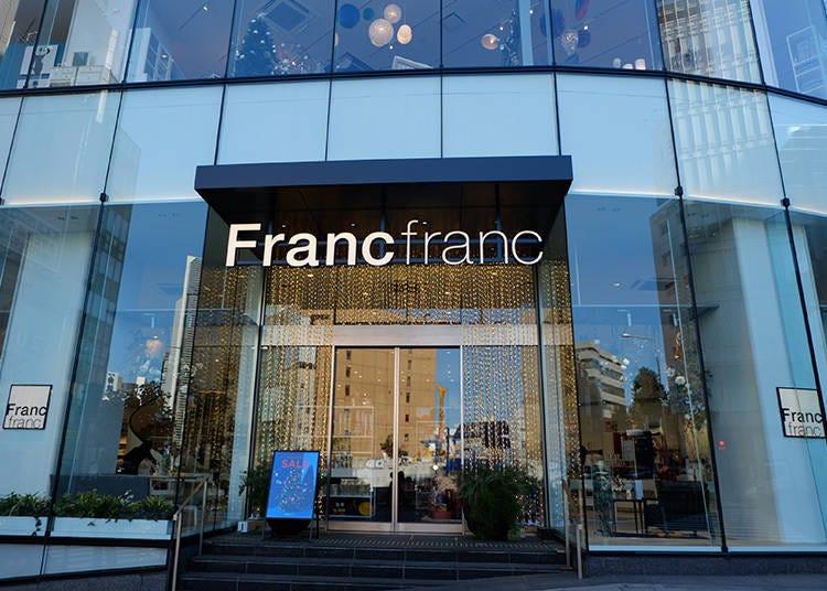 改造居家品味必訪店 充滿法式時尚與優雅氣息的「Francfranc」青山旗艦店