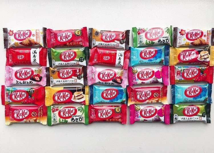 每种都想来一个!与日本各地物产结合推出的KITKAT限定口味