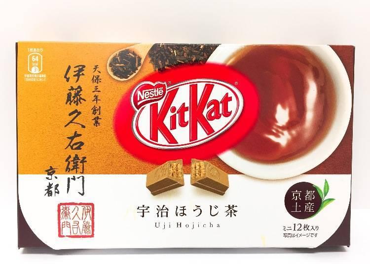 温和不过甜-【京都】伊藤久右卫门焙茶口味