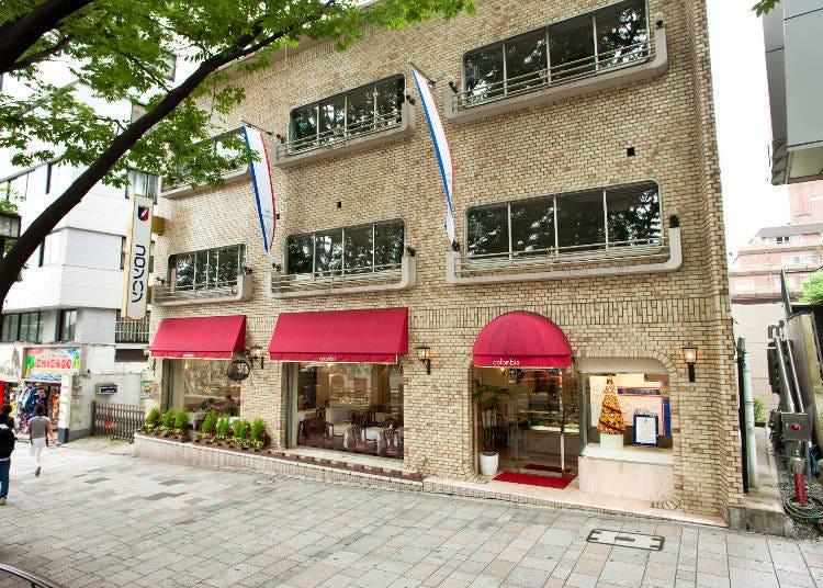 日本初の本格派フランス菓子の店!コロンバン 原宿本店サロン