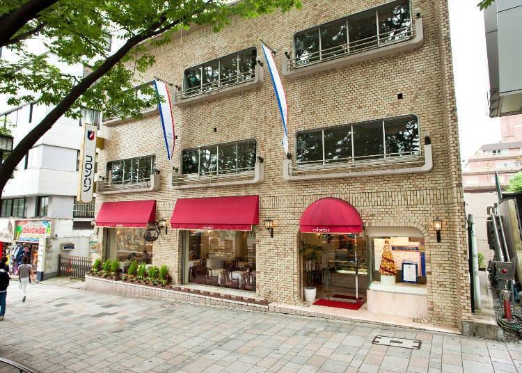 日本第一間真正的法式洋菓子店!Colombin 原宿總店沙龍