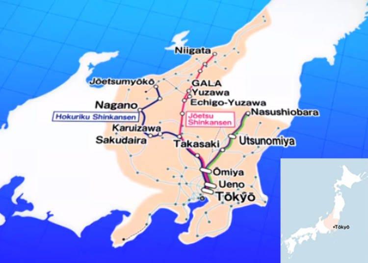 ② JR EAST PASS (Nagano and Niigata area)