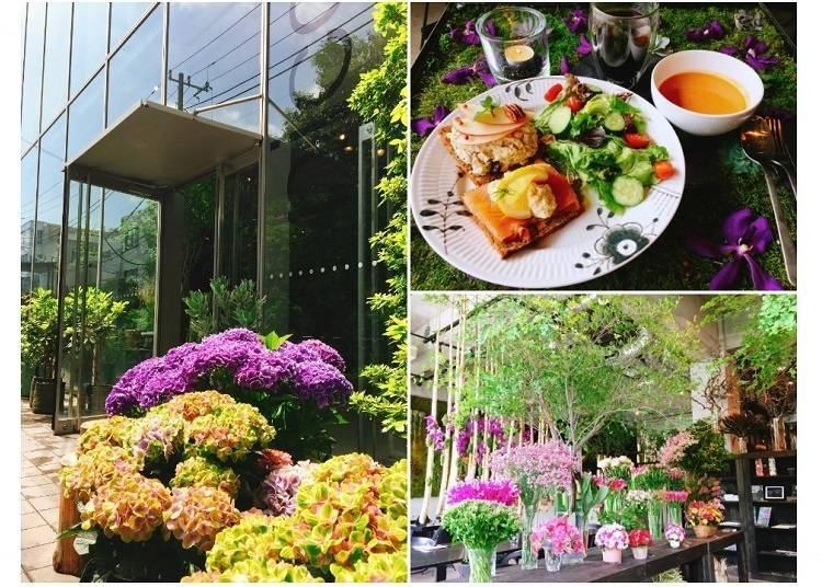 1. An elegant afternoon at the Nicolai Bergmann Nomu café in Omotesando