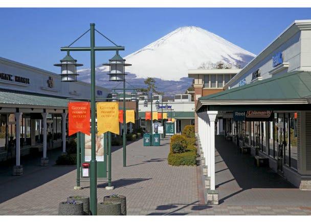 【8】在日本第一大OUTLET「御殿場PREMIUM OUTLETS」買好買滿!