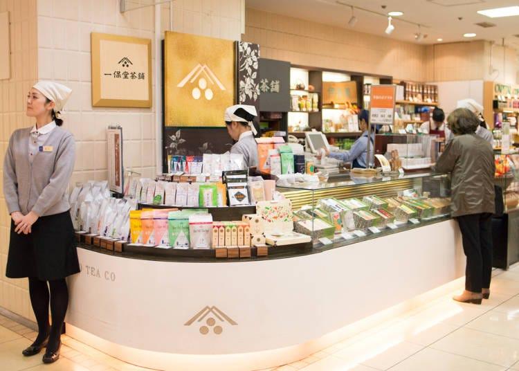 日本茶専門店で茶葉からティーバッグまで選べる/「一保堂茶舗」