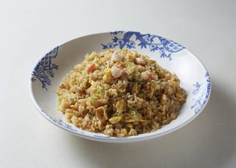 「中国とは食感がぜんぜん違う!」/「チャーハン」