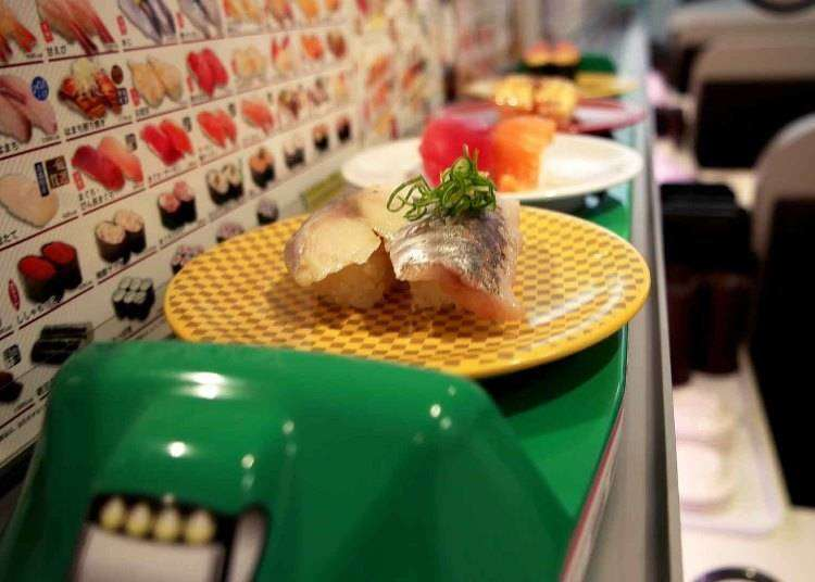 Tokyo Uobei: Japan's Insane High Speed Sushi - Served by Bullet Train!