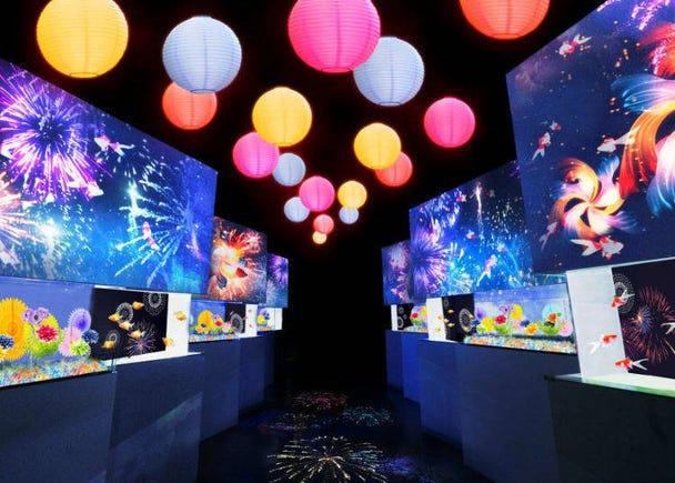 Hanabi Aquarium By Naked (Fireworks Aquarium)