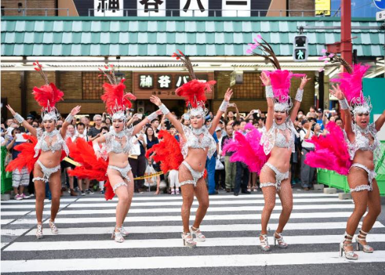37th Asakusa Samba Carnival Parade Contest