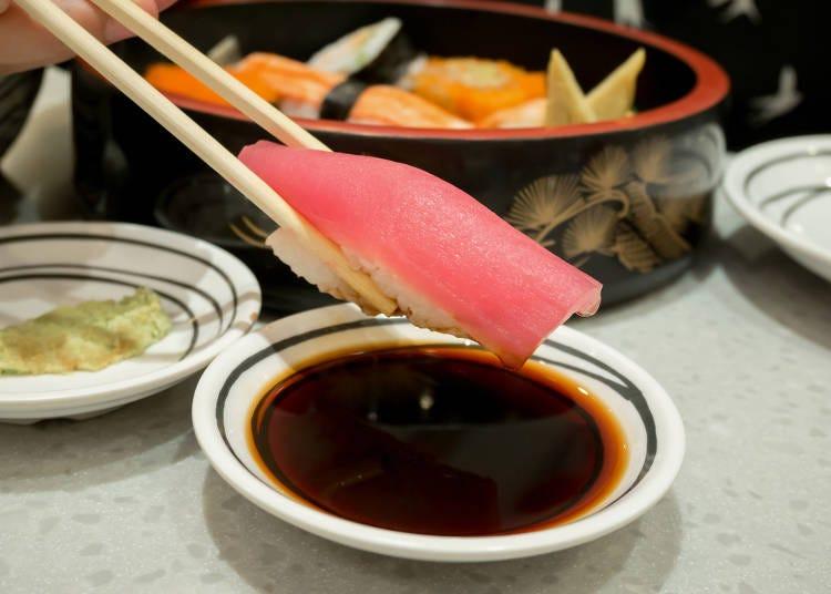 握り寿司に、天汁を付けて食べる友人に…笑(カナダ在住/20代/男性)