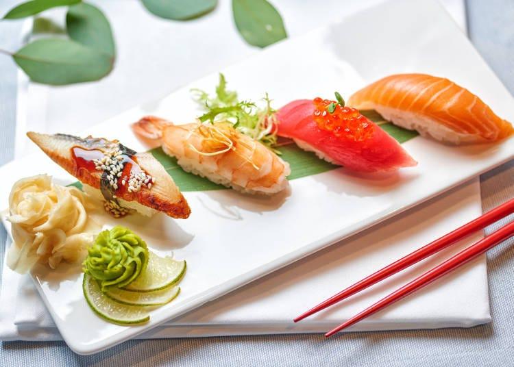 日本の寿司は、新鮮な素材と、洗練された職人の技術の賜物(ジャカルタ在住/30代/女性)