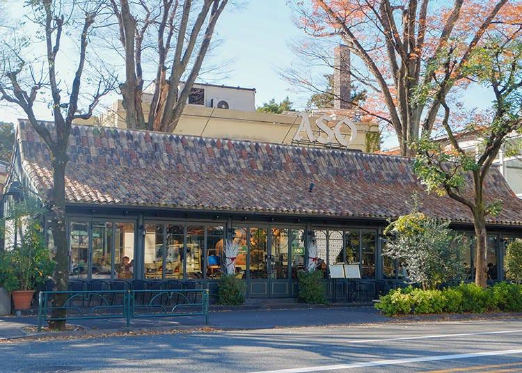 Daikanyama's Most Elegant Café: Caffè Michelangelo