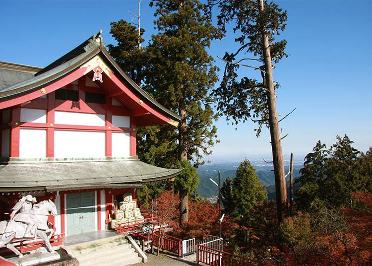 Musashi Mitake Shrine: Ancient Worshiping and Gorgeous Views