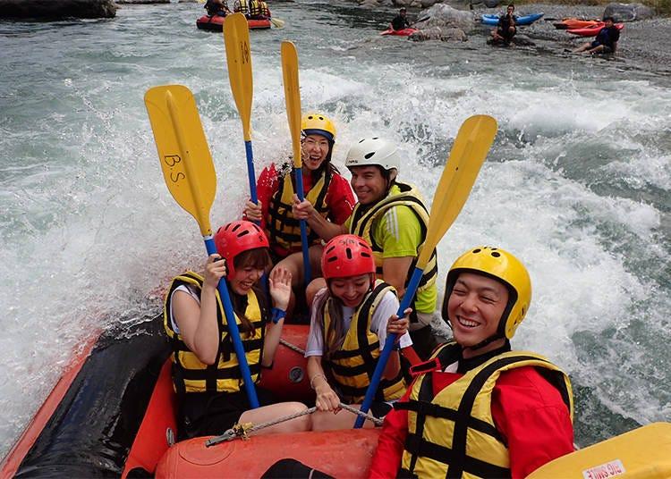 5. Rafting at Okutama: You'll Definitely Get Wet!