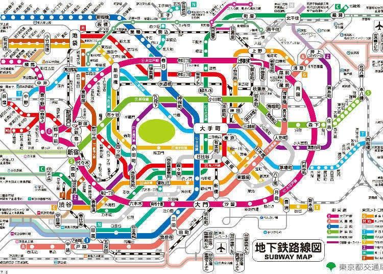 東京Metro-擁有9條路線的地下鐵