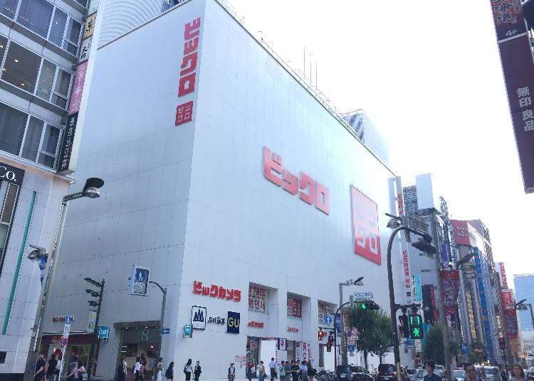 特別感謝攝影協力 BICQLO BicCamera 新宿東口店