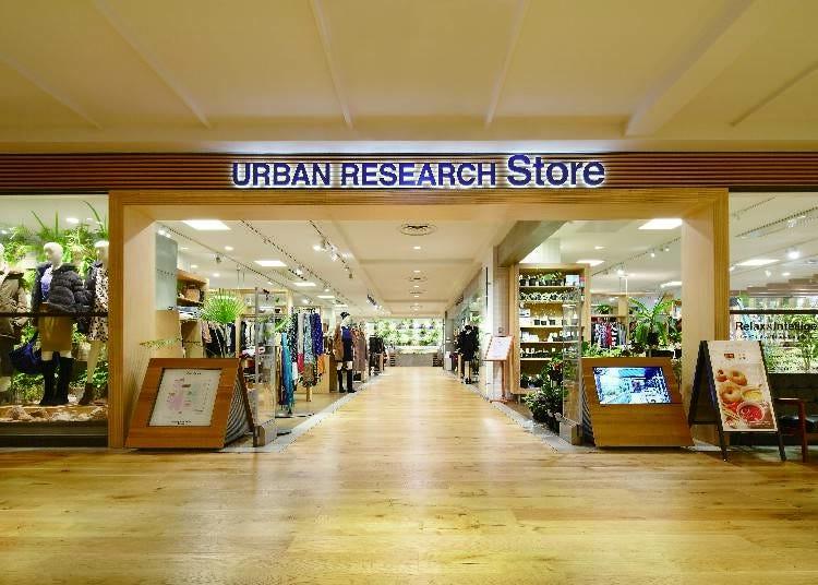 魅力的なワードローブが揃う!『URBAN RESEARCH Store 東京スカイツリータウン・ソラマチ店』