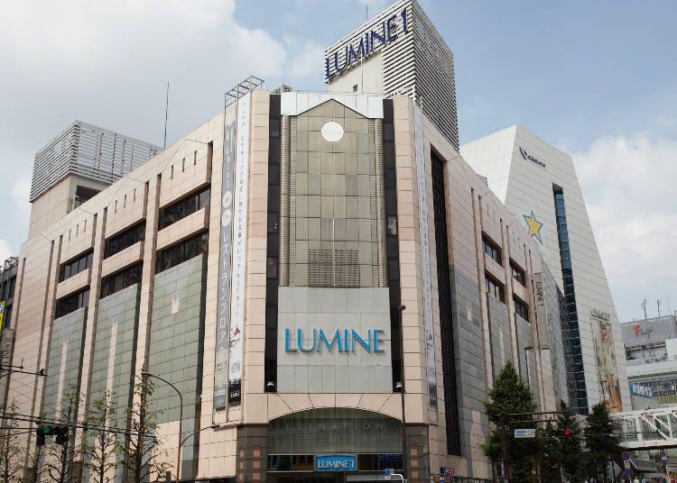 도쿄 최대 규모의 다양한 종류의 후쿠부쿠로가 가득한 루미네 신주쿠(LUMINE Shinjuku)