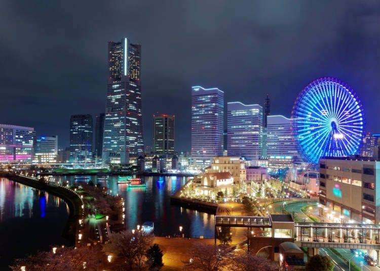 5. Enjoy the romantic Yokohama Landmark Tower and Minato Mirai