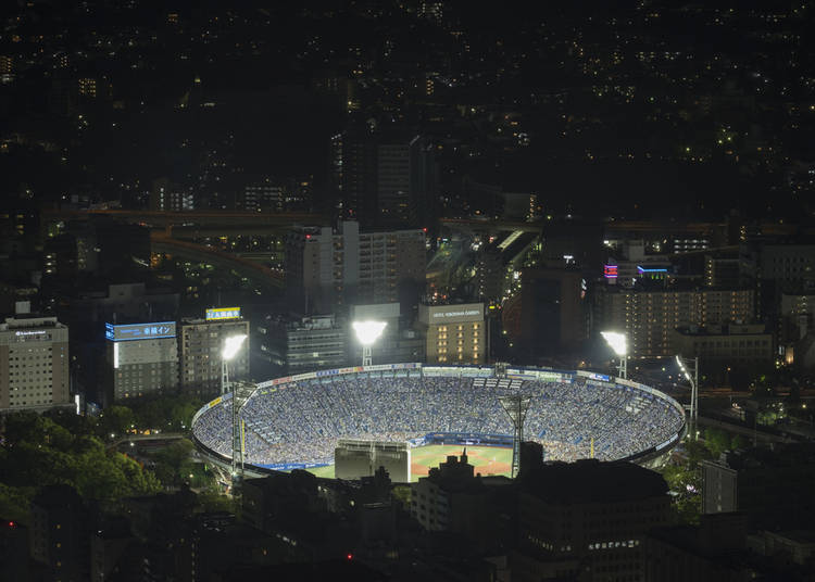10. Catch a Yokohama DeNA Baystars Baseball Game