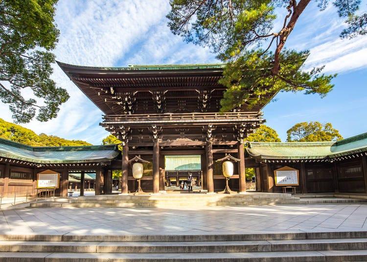 6. Meiji Jingu Shrine