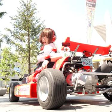 Rent a Go-Kart and ride around Akihabara Tokyo!