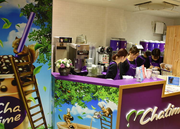Chatime: Quality and quantity all in one!