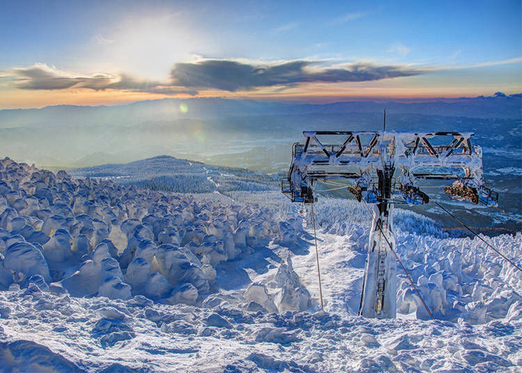When is the best time for skiing in Japan?