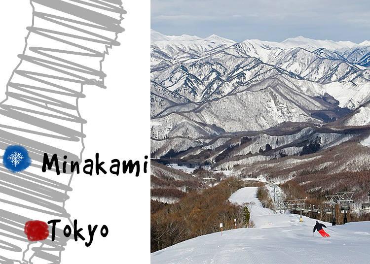 4. Minakami Ski Resorts