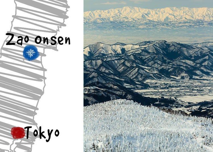 5. Zao Onsen Ski Resort