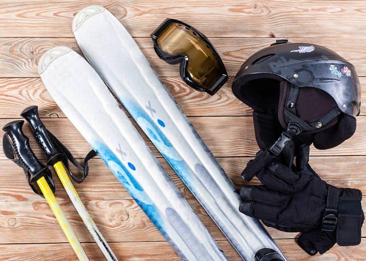 Doing Ski Equipment Rentals in Japan
