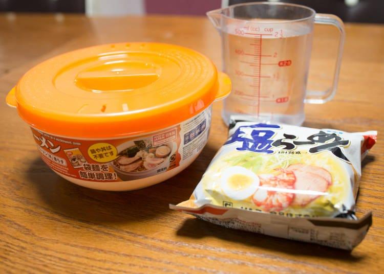 【ランチ作り】超簡単で洗い物いらず!ガス代の節約にもなる「レンジでラーメン丼いらず」