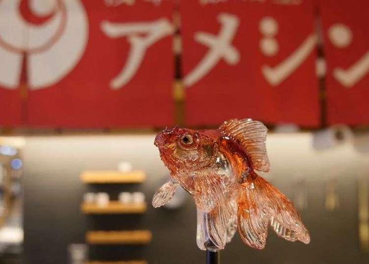 [MOVIE] 도쿄여행중 아사쿠사 설탕공예 아메신(amezaiku)의 놀라운 작품을 만나보자!