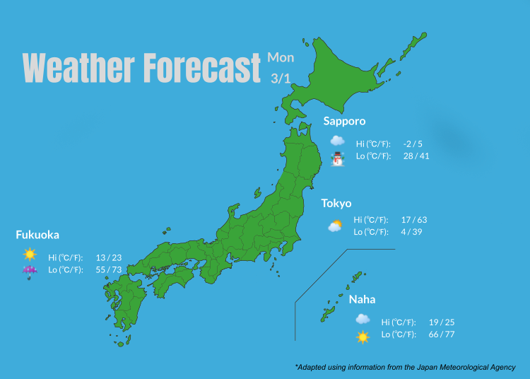 Tokyo Weather: 7-day Forecast for Tokyo and Japan (+What to Wear!)