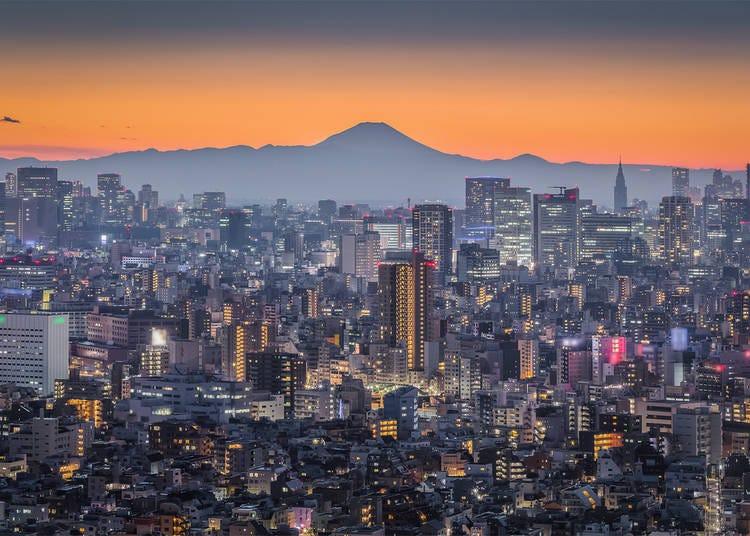 Volcanic sites in Japan