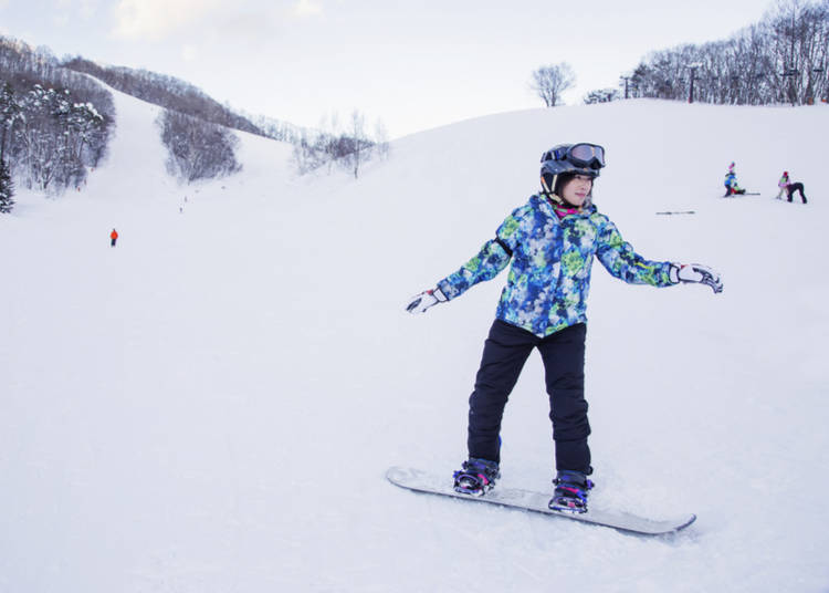 1. Skiing and Snowboarding in Gunma Prefecture