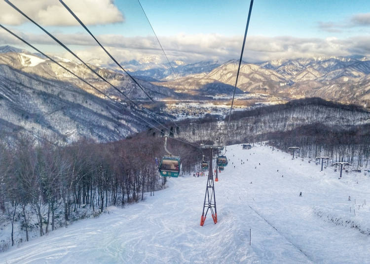 4. Skiing and Snowboarding in Nagano Prefecture