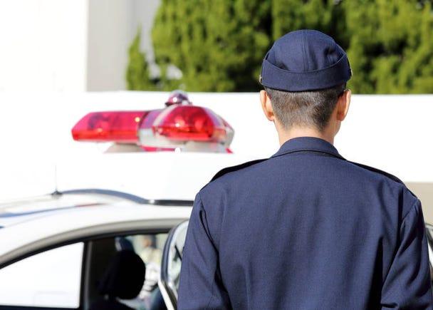 6:警察官がやさしくてうれしかった!でももうちょっと厳しくても良いと思う