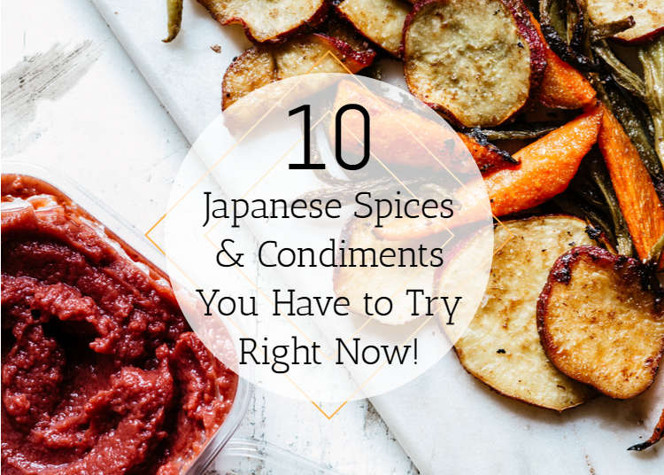 10 Japanese Spices & Condiments You Have to Try Right Now!