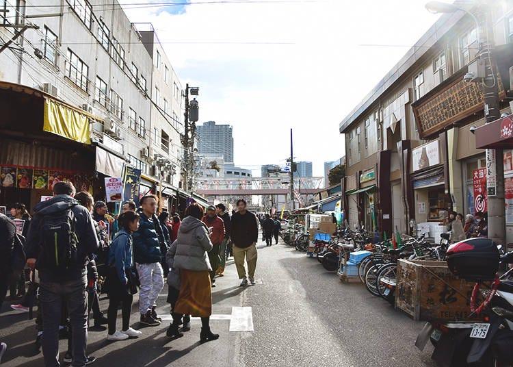 Street Food Etiquette in Japan