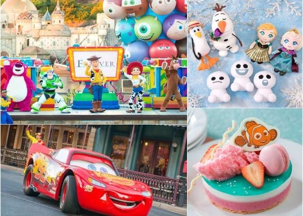 東京迪士尼「皮克斯遊戲時間」「安娜與艾莎的冰雪夢幻」 與大螢幕中的動畫明星共度寒假時光