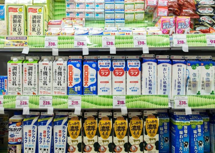 日本的牛奶
