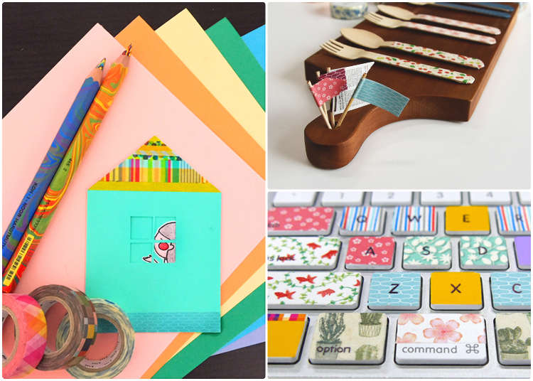 15 Incredibly Easy Washi Tape Projects to Make Your Day Happier