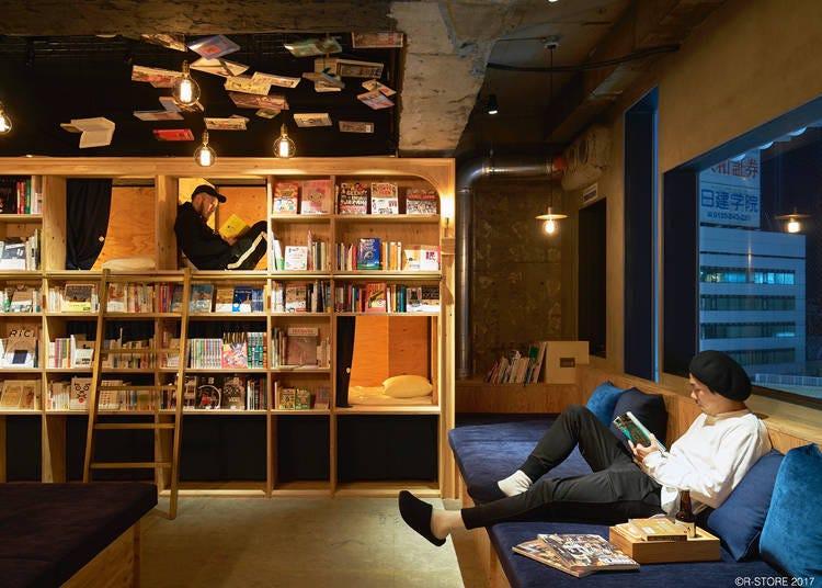 【春オープン】BOOK AND BED TOKYO 新宿店 ~本棚の中で眠る喜び~