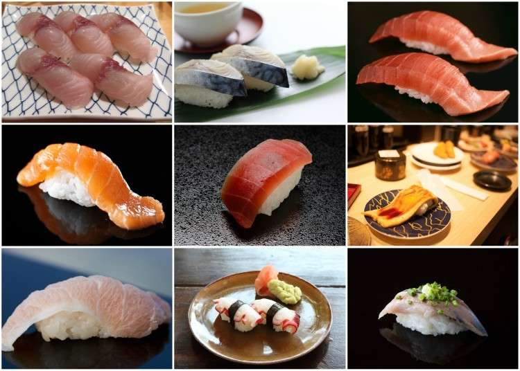 28 Varieties of Sushi You Have to Try!