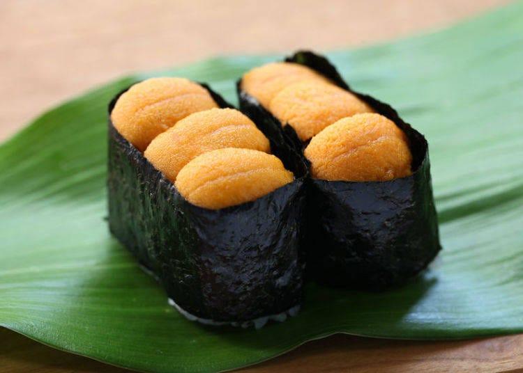 21. Uni (sea urchin)