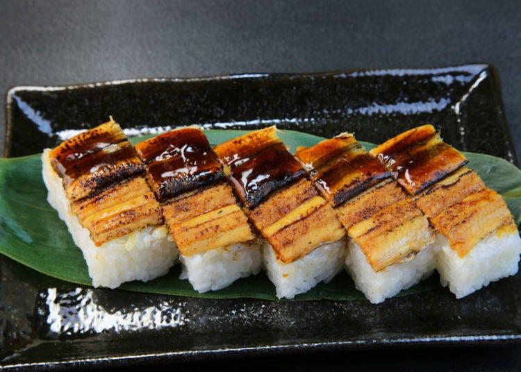 23. Anago (saltwater eel)