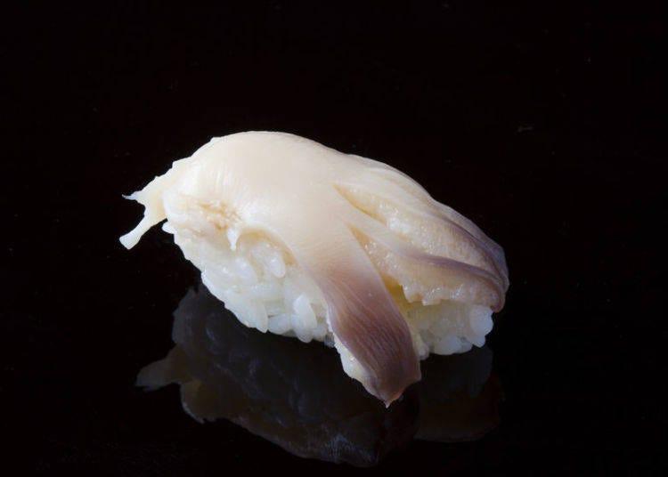 25. Hokkigai (surf clam)