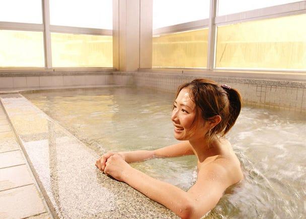 What to do in Yuzawa: Onsen Hot Springs